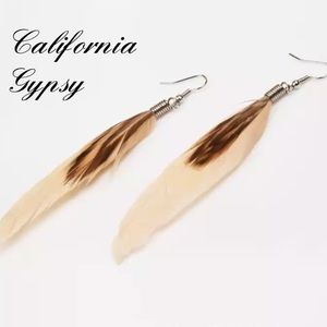 COMING SOON🎉Boho hippie festival feather earrings